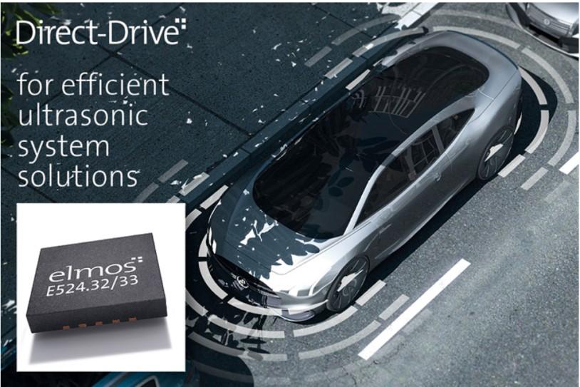 elmos下一代高性能直接驱动超声波IC