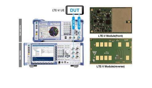 罗德与施瓦茨公司与大唐电信集团联合宣布:双方实现LTE-V产品多项对接测试