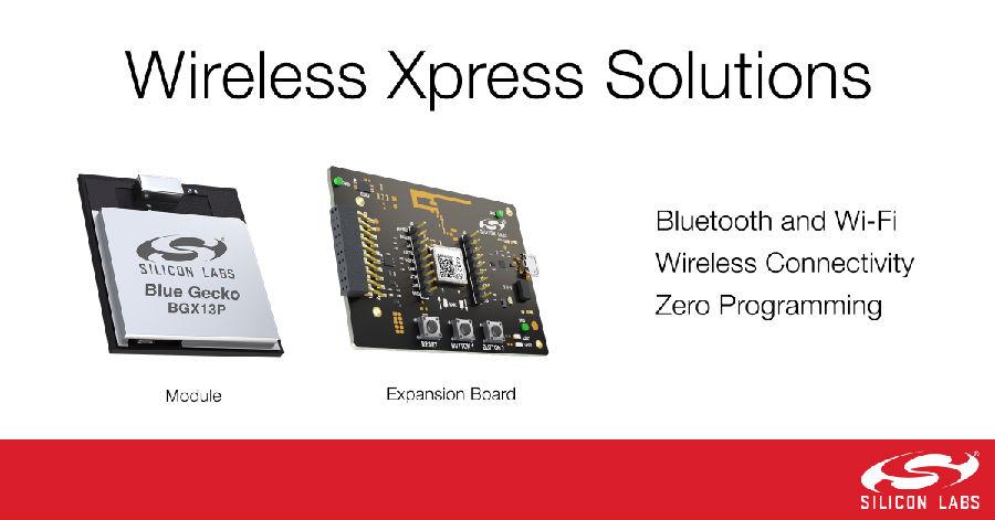 Silicon Labs Wireless Xpress模块免编程实现蓝牙和Wi-Fi连接