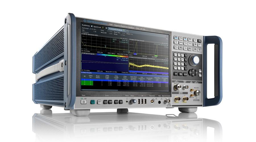 罗德与施瓦茨发布全新R&S FSW系列,能分析更大带宽且具有更强射频性能