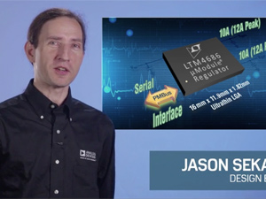 具电源系统管理功能的超薄型 µModule 稳压器