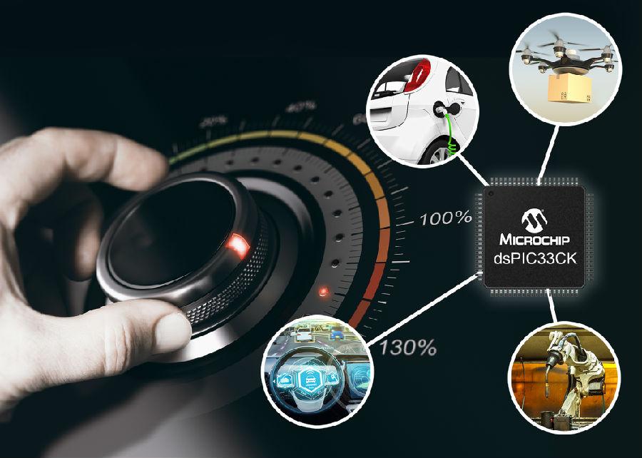 新型数字信号控制器(DSC)提升时间关键型控制应用的DSP性能