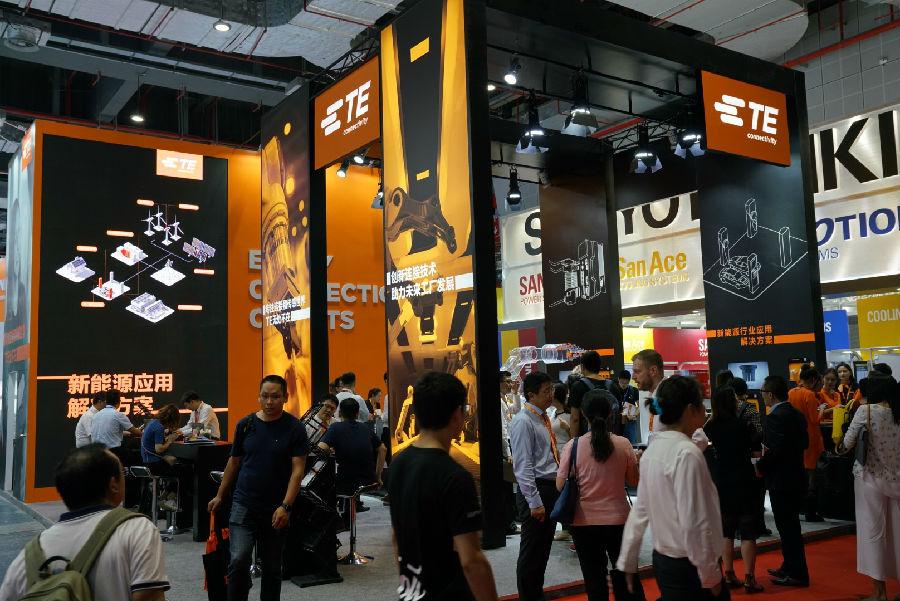 TE Connectivity亮相2018工业博览会:连动中国30年,以高效连接,助力未来工厂
