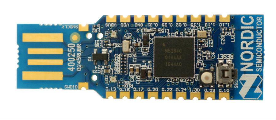 儒卓力提供用于无线设计的低成本Nordic USB Dongle