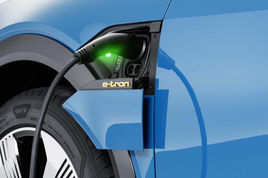 奥迪电动汽车12分钟可充电至80%?