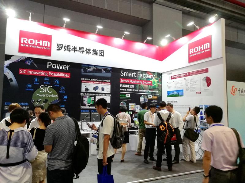 """罗姆参展""""2018第二十届中国国际工业博览会"""""""