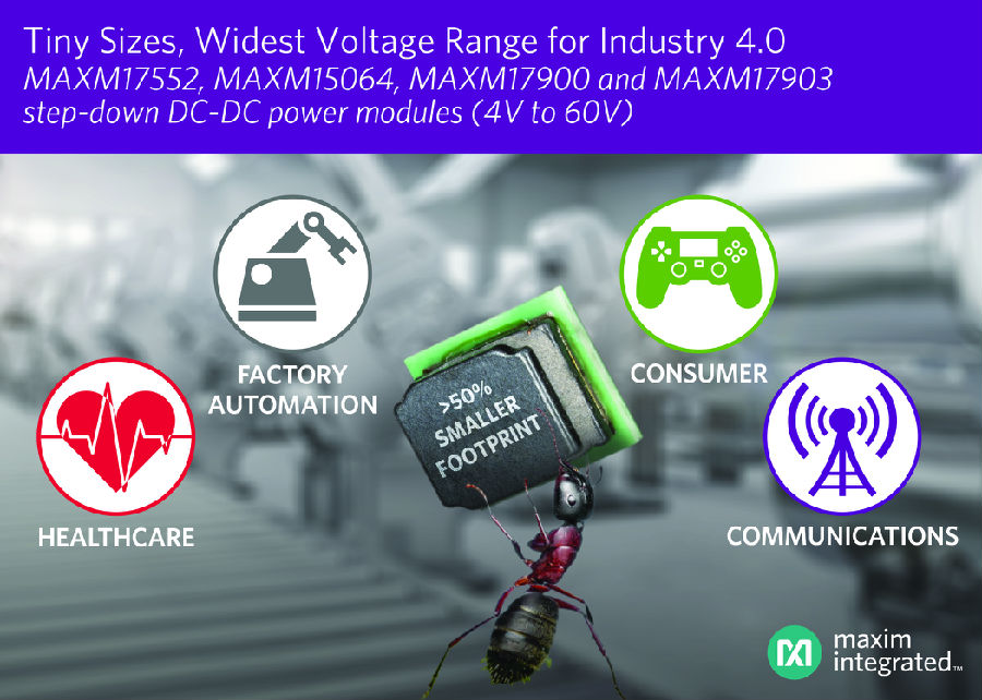 Maxim喜马拉雅uSLIC家族又添新成员,提供业界最宽的电压范围和最小封装尺寸
