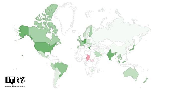 全球IPv6普及率已经突破25% 中国部署率仅为2.93%