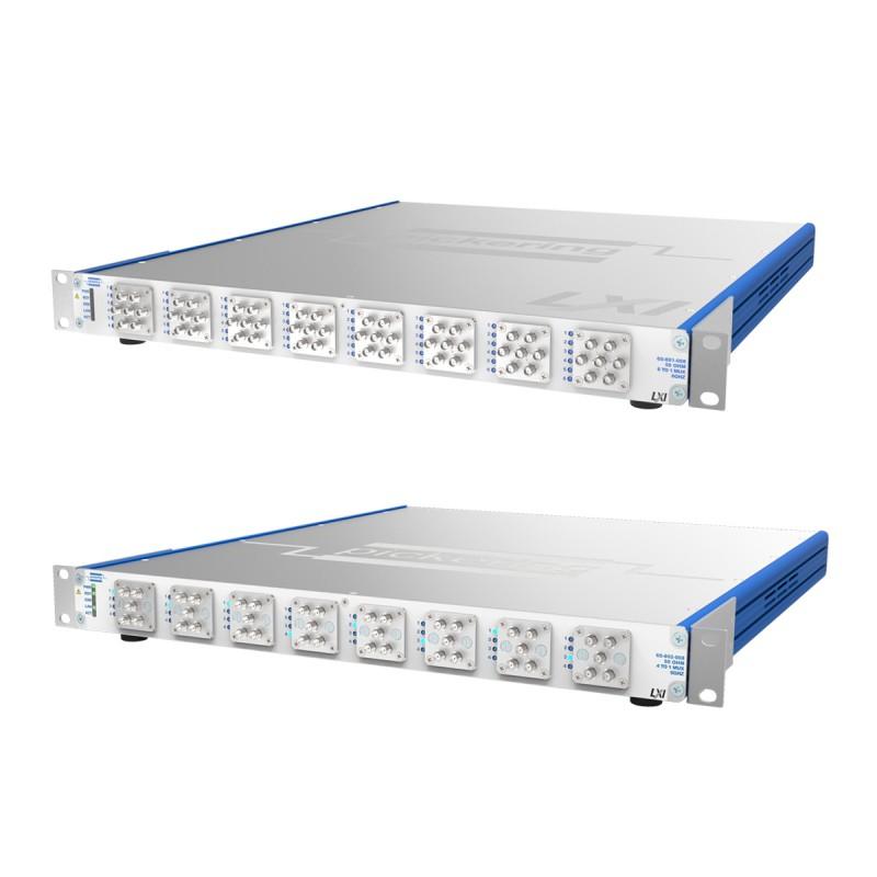 Pickering Interfaces最新推出的4、6通道LXI微波多路复用 解决方案具有出色的射频特性和可重复性