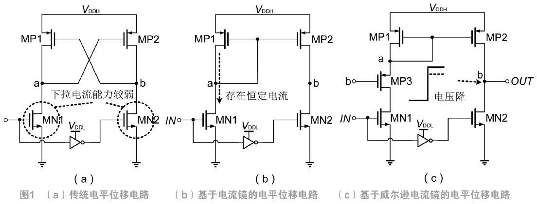 一种低功耗的电平位移电路
