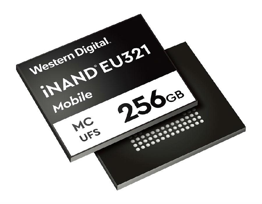 西部数据推出96层3D NAND UFS 2.1嵌入式闪存盘,定位高端智能手机