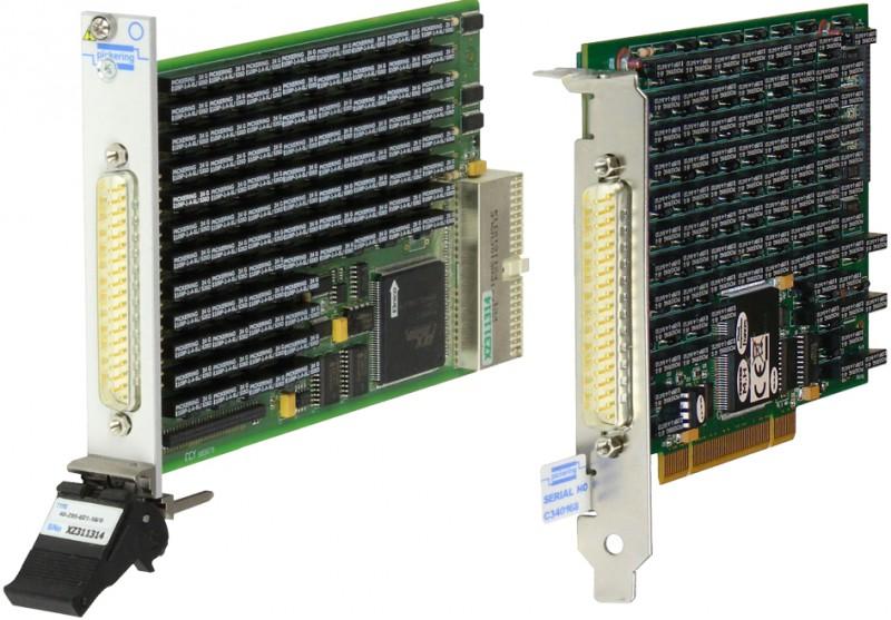 Pickering Interfaces推出的高精度PXI/PCI精密程控電阻模塊使用壽命長和操作速度快是一大亮點