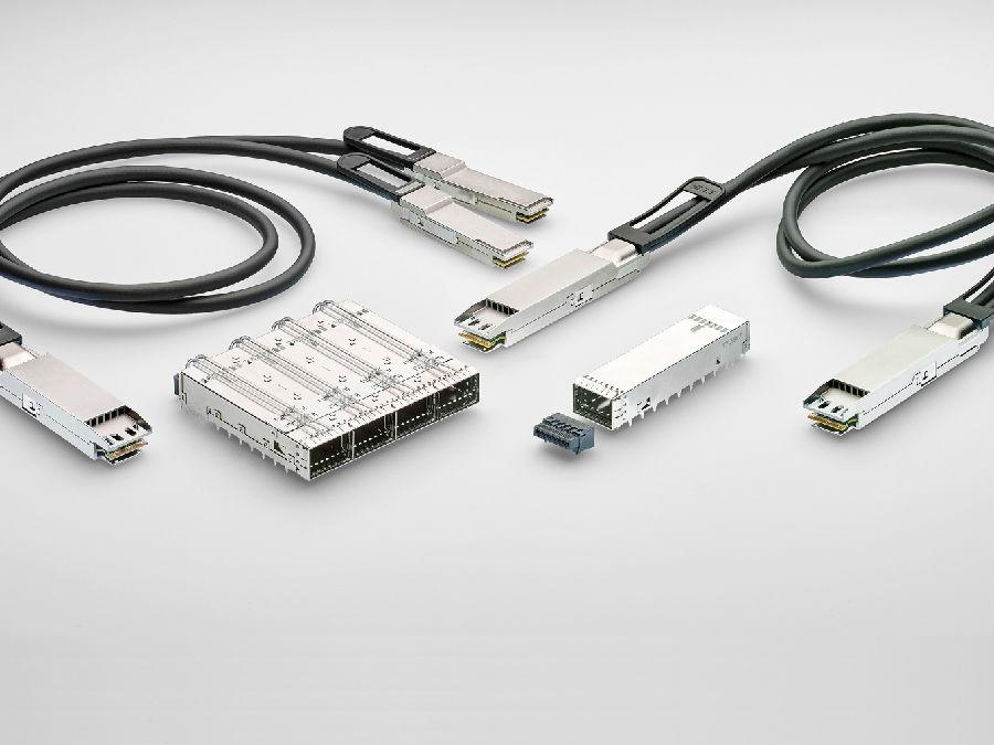 TE Connectivity推出OSFP连接器和电缆组件