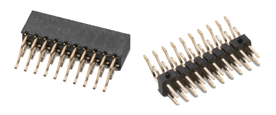 伍尔特电子扩展其 WR-PHD 排针和排母系列  板对板对接
