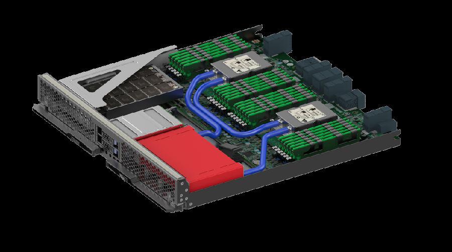 曙光发布全球首款液冷八路服务器