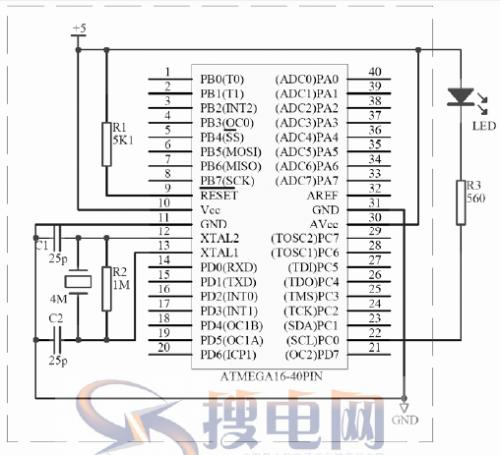 AVR硬件设计(内含最小系统电路图)