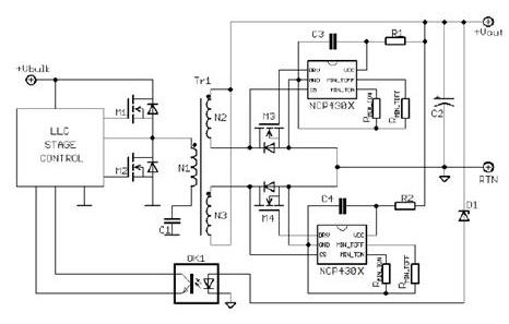 大联大友尚集团推出ON Semiconductor电流型LLC-150W电源解决方案