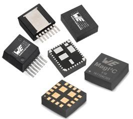 高密度封装的功率级、稳压器和电感器