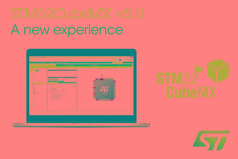 意法半导体STM32CubeMX MCU引入多面板GUI 更新配置软件以改善开发者体验