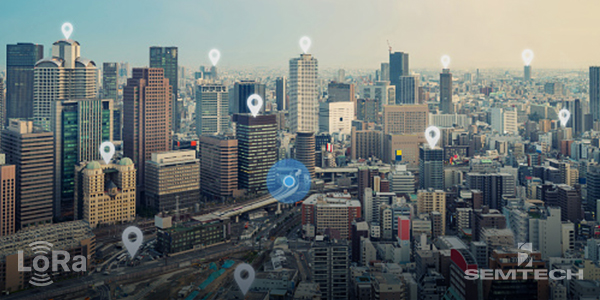 Semtech简化LoRa®应用的地理定位开发