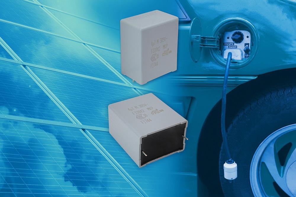 Vishay 推出新款汽车级EMI抑制薄膜电容器