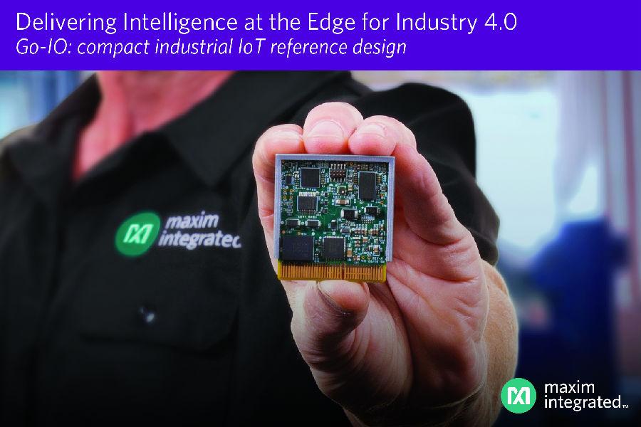 Maxim发布Go-IO平台,将智能化推向数字工厂前沿