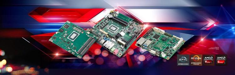 研华AMD 嵌入式产品,助力多行业多场景应用