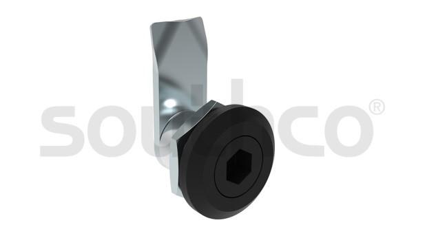索斯科袖珍型转舌式门锁以极小突起表面发挥最佳应用