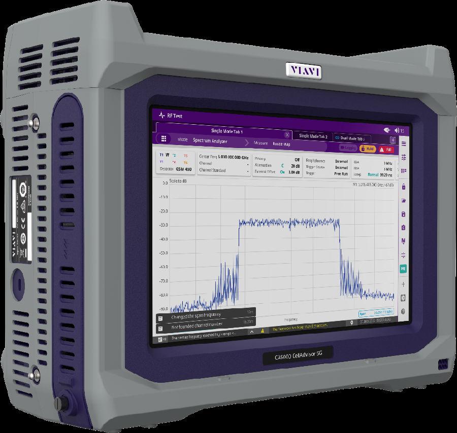 VIAVI推出首款真正的5G基站分析仪,助力大规模部署