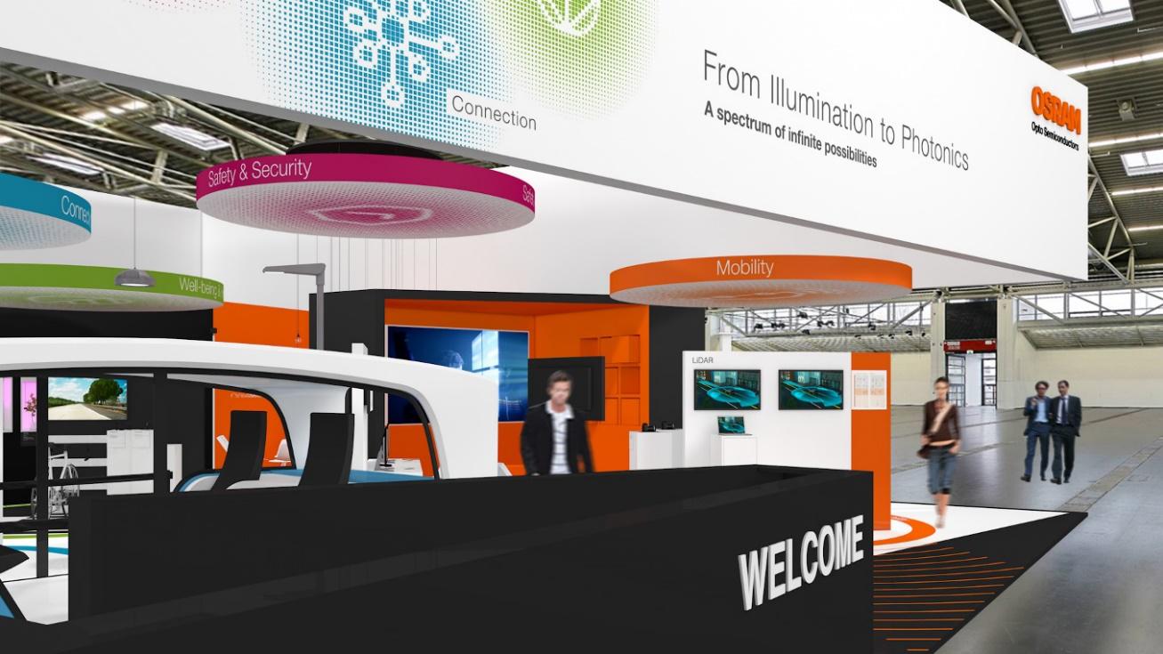 欧司朗光电半导体携多款创新解决方案亮相2018德国慕尼黑电子展