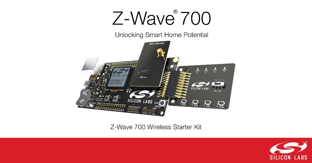 Silicon Labs Wireless Gecko平台发布新一代Z-Wave 700系列