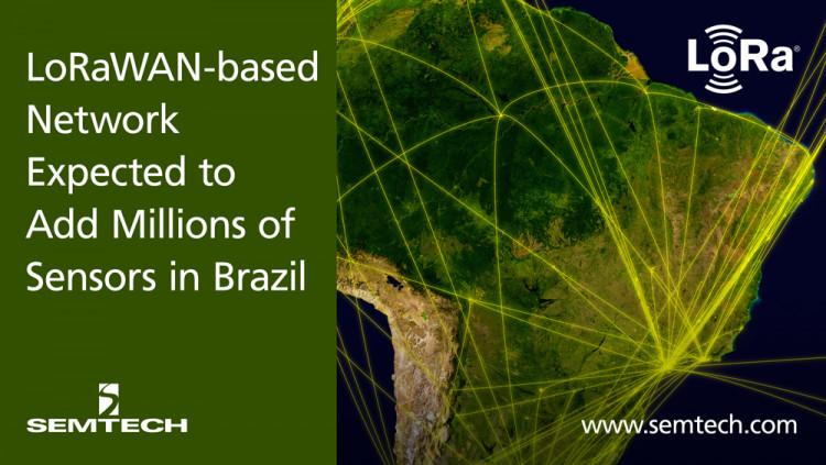 Semtech支持巴西LoRaWAN网络的部署