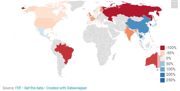 一组数据带你看:亚洲如何主导工业机器人的应用