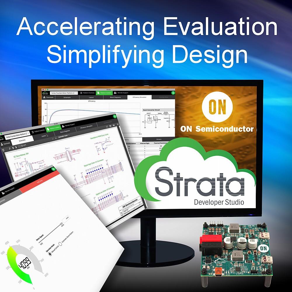 安森美半导体推出业界最完整的研发、评估和设计工具 Strata Developer Studio