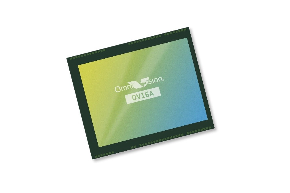 全新OmniVision图像传感器为主流薄边框智能手机的前后置摄像头提供具性价比的1600万像素升级解决方案
