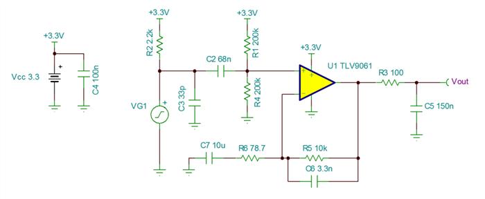 采用业界最小的运算放大器设计麦克风电路