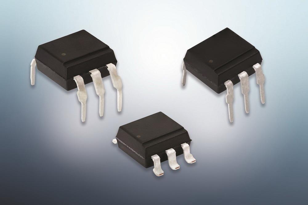 Vishay推出静态dV/dt为1000 V/μs的新型光耦