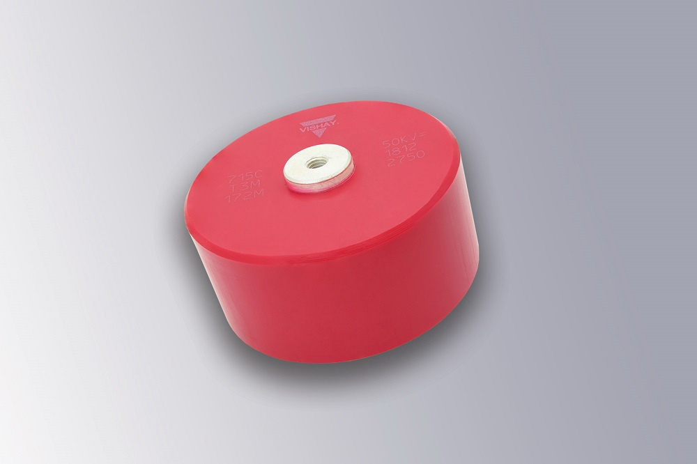 Vishay的螺丝固定盘式陶瓷电容器扩展至50 kVDC(34 kVRMS)
