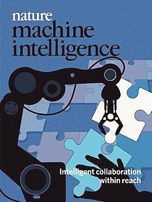 《自然》子刊《机器智能》上线