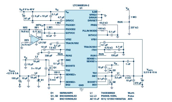 突破约束:基于简单降压控制器的精密双极性电源设计