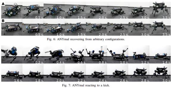 神奇!AI教会四条腿的机器人如何摔倒后爬起来
