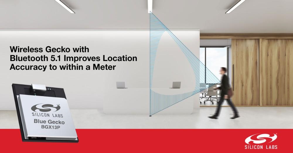 蓝牙5.1全新测向(Direction Finding)功能为IoT提供商提高3倍定位精确度