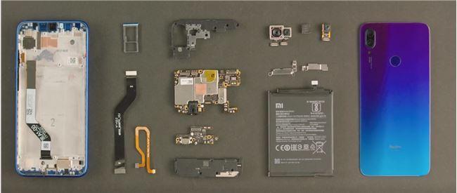 红米Note 7拆机视频发布:防水、防跌处理扎实
