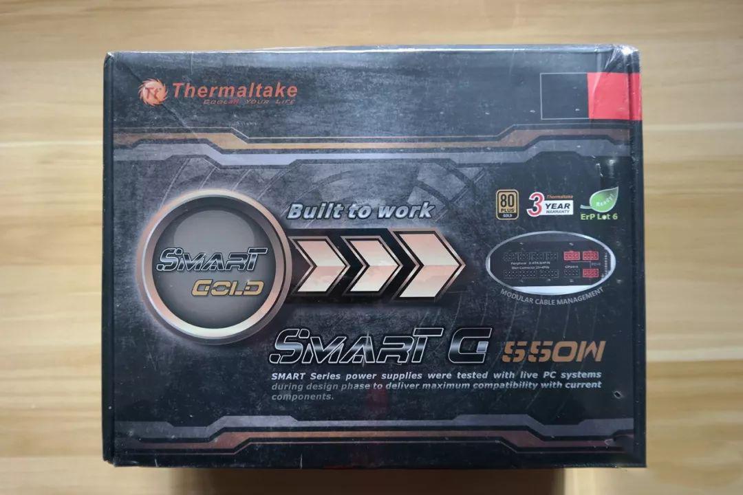 Tt Smart G 550W金牌全模组电源拆解