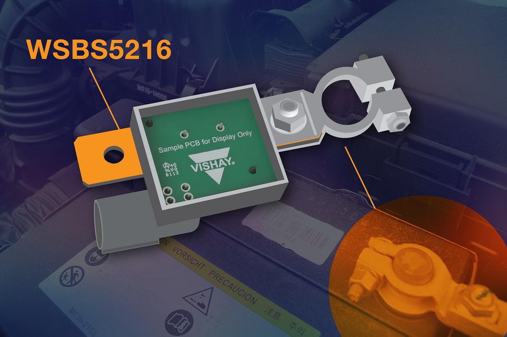 Vishay推出超小外形尺寸的高精度、?#32479;?#26412;、耐腐蚀新款电池?#26376;?#30005;阻