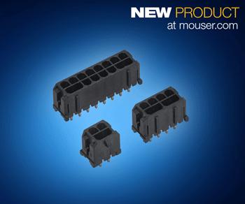 TE Connectivity ELCON Micro电源连接器在贸泽开售  以标准间距实现高电流密度