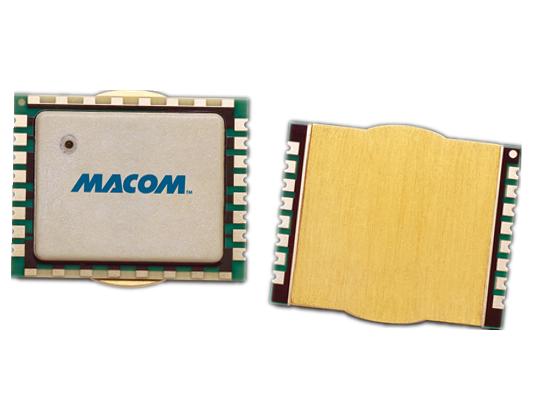 MACOM推出宽带多级硅基氮化镓 (GaN-on-Si) 功率放大器 (PA) 模块 具备灵活安装性能,实现领先的设计敏捷性