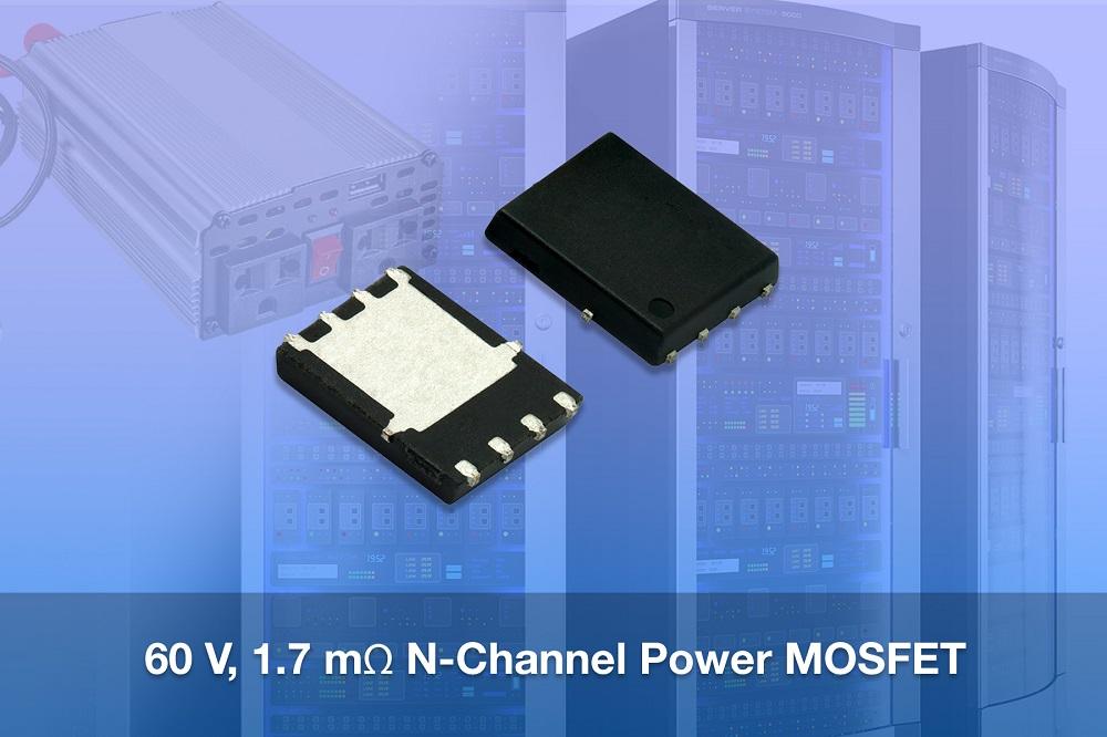 Vishay最新推出高性能60 V TrenchFET® 第四代 N沟道功率MOSFET