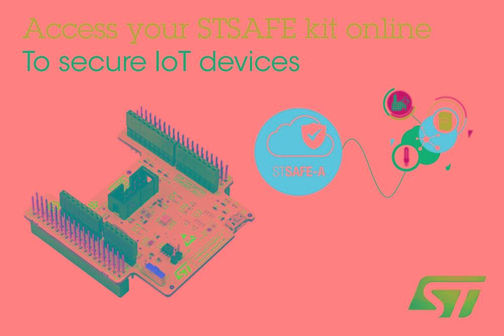 意法半导体发布安全单元评估套件, 配备即用型IT和物联网应用软件