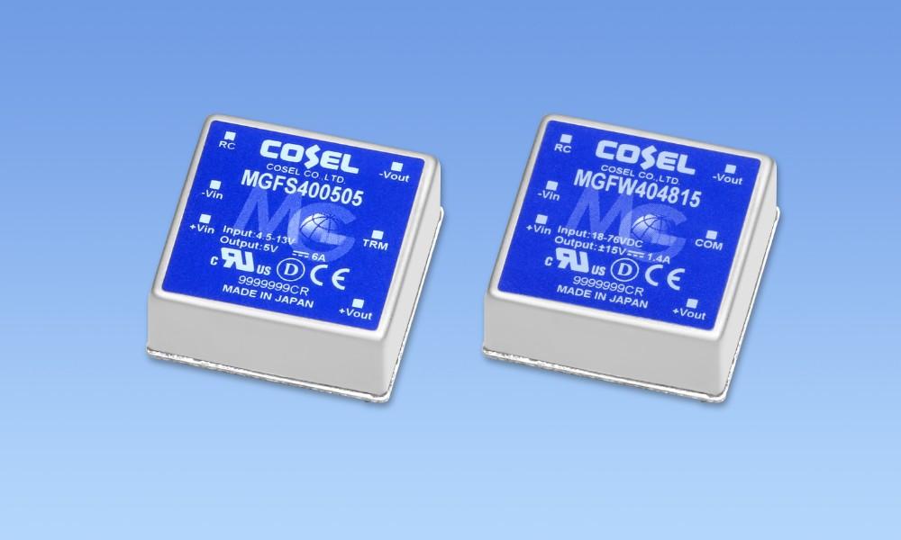 COSEL(科索)高可靠DC/DC转换器提供10年保修期